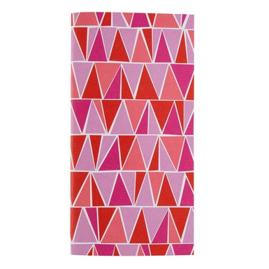 Amy tangerine shop notebooks triangles 33676
